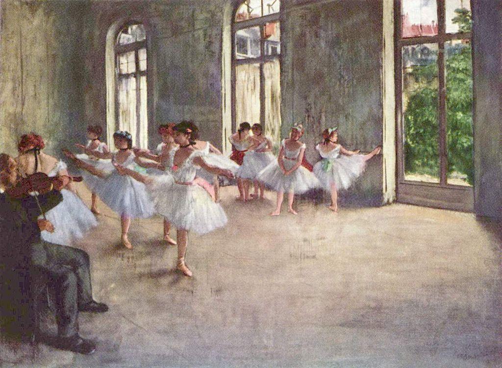 Biography: Edgar Degas Art for Kids