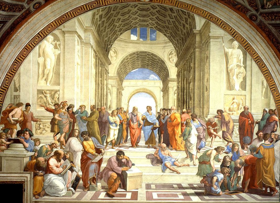 The School of Athens by RafaelFamous Angel Paintings Raphael
