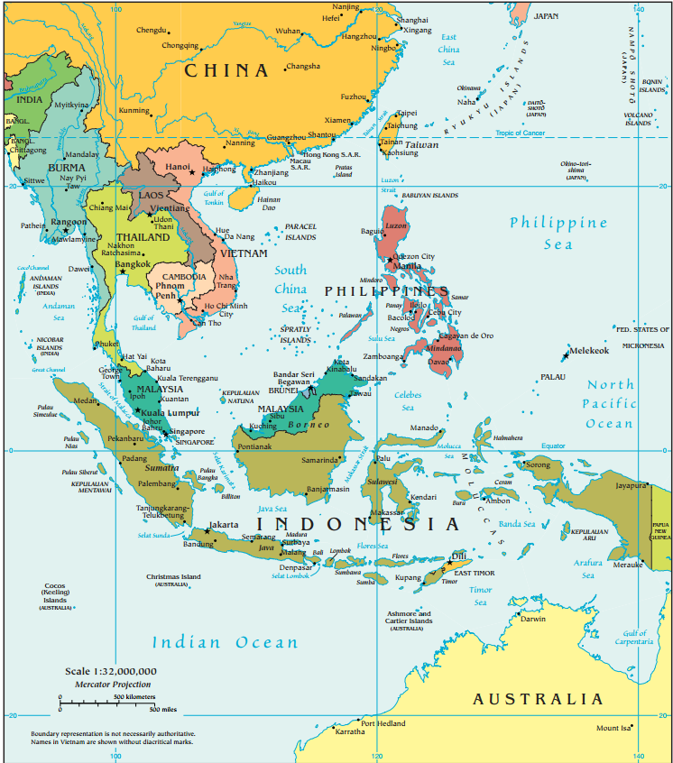 Geography for Kids: Southeast Asia